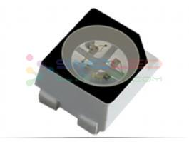 Black 3528 Rgb Led Chip Top View 1.90 Mm Height With Colors Clear Window Display